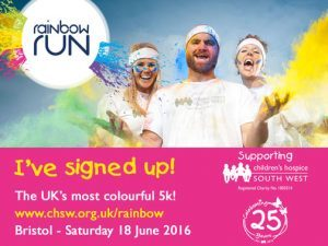 rainbow run flyer