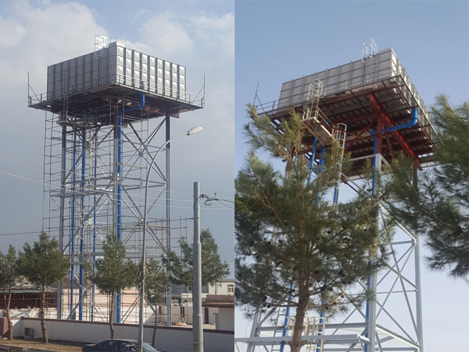 Kurdistan, Iraq - Water Tank Installation Project