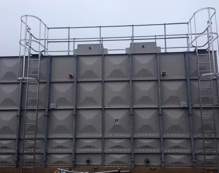 Dewey Waters LPCB Sprinkler Tanks