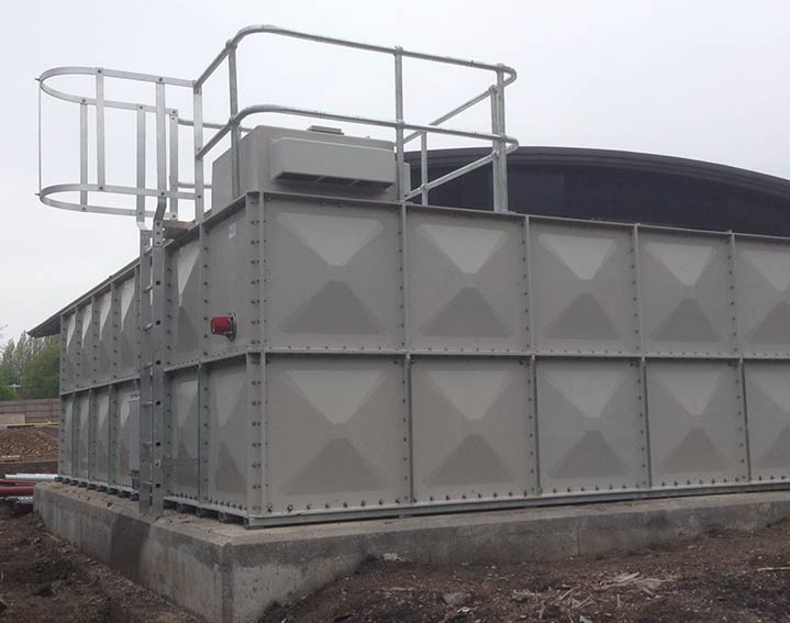 LPCB GRP Sprinkler Tanks