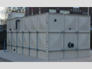 WATER STORAGE TANK INSTALLATION & Cold Water Storage Tank Installation Case Studies - Export u0026 Within UK