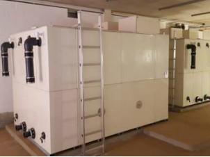 hoe-valley-school-water-tank-installation
