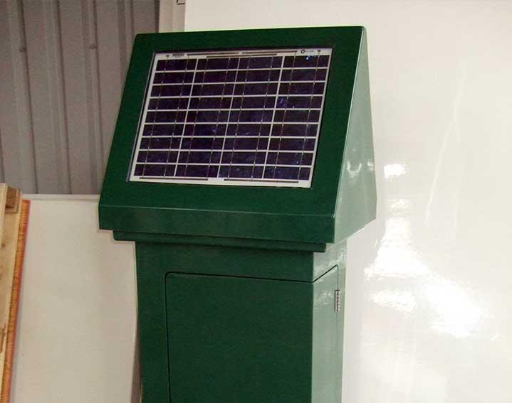 ATEC solar cabinet
