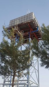 water tank installation - Kurdistan Iraq