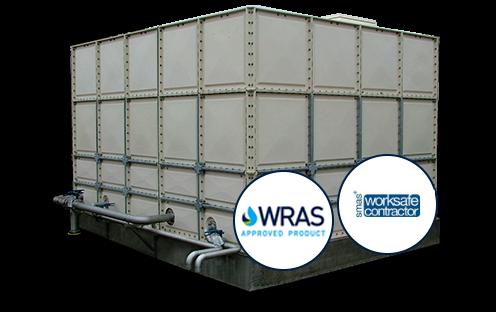sectional water tanks | Dewey Waters