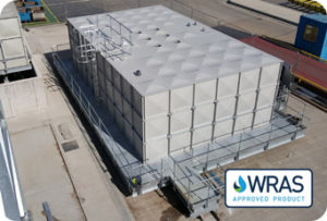 Wras approved sectional water tank