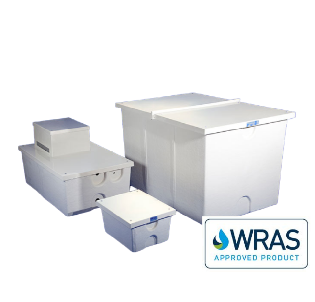 one piece wras approved grp tanks