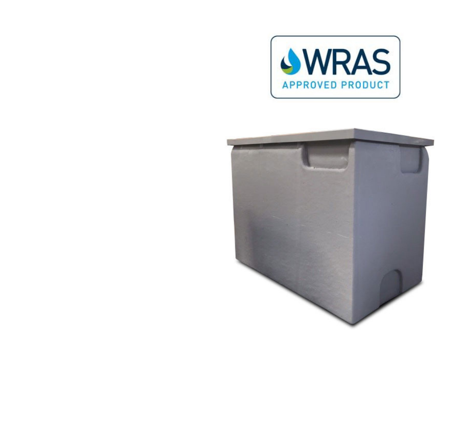 WRAS Approved one piece GRP tank